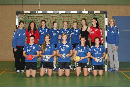 weibliche A-Jugend - Saison 2012/13 - Jahrgang 94/95