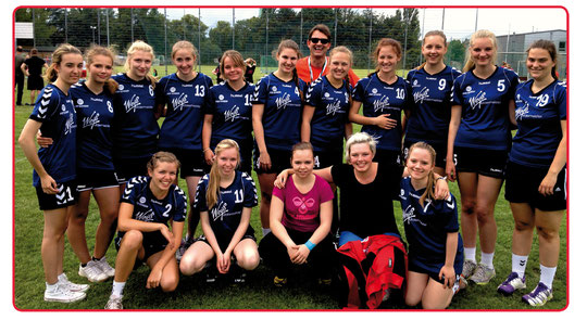 weibliche A-Jugend - Saison 2014/15 - Jahrgang 96/97