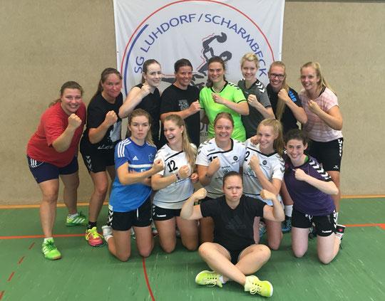 1.Damen - Saison 2016/17 - Regionsliga Nord