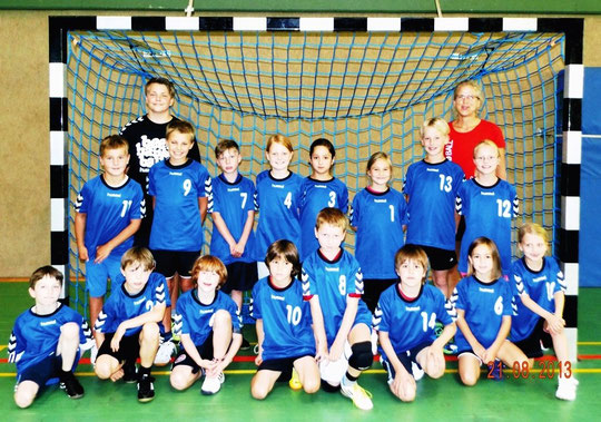Minis Luhdorf - Saison 2013/14 - Jahrgang 2005/06