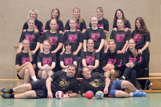 2.Damen - Saison 2015/16 - Regionsliga Nord