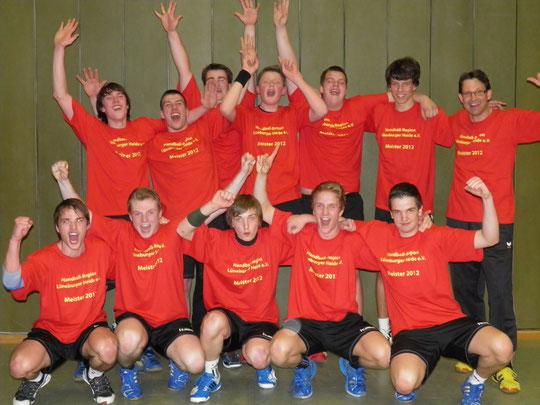 Männliche A-Jugend - Saison 2011/12 - Jahrgang 1993/94 - REGIONSMEISTER
