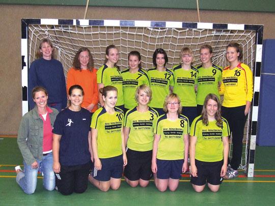Weibliche B-Jugend - Saison 2010/11 - Jahrgang 1994/95