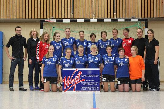 weibliche A-Jugend - Saison 2011/12 - Jahrgang 1993/94/95
