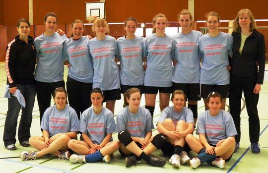 Weicbliche B-Jugend - REGIONSMEISTER Saison 2010/11 - Jahrgang 1994/95