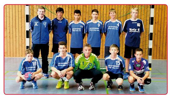 männliche C-Jugend - Saison 2014/15 - Jahrgang 2000/01