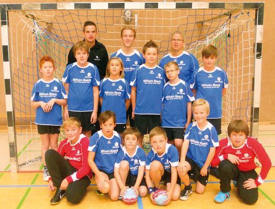 männliche E-Jugend - Saison 2012/13 - Jahrgang 2002/03