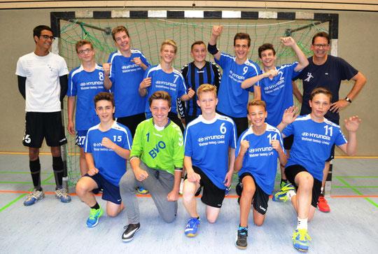 männliche C-Jugend - Saison 2016/17 - Jahrgang 2002/03