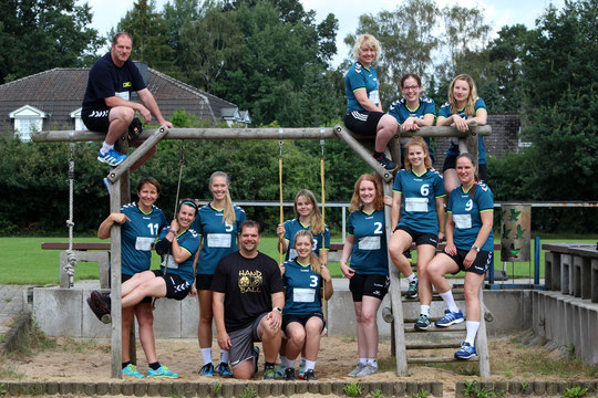 2.Damen - Saison 2016/17 - Regionsliga Nord