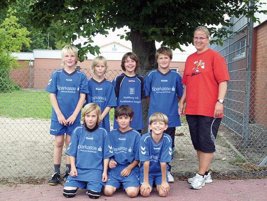 Männliche E-Jugend - Saison 2010/11 - Jahrgang 2000/01