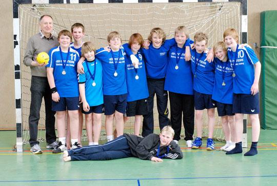 Unsere MD1 wurde Staffelsieger 2010/11