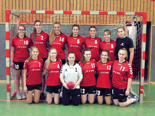 weibliche A-Jugend - Saison 2015/16 - Jahrgang 97/98 - als JMSG Ashausen/Luhdorf
