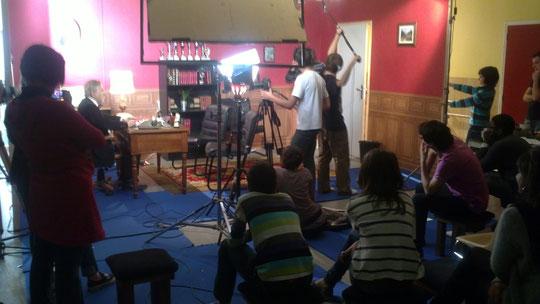Photo de tournage 2 (épisode 6)