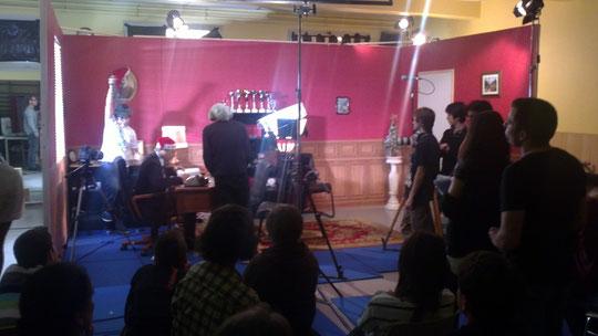 Le plateau de tournage (partie droite)
