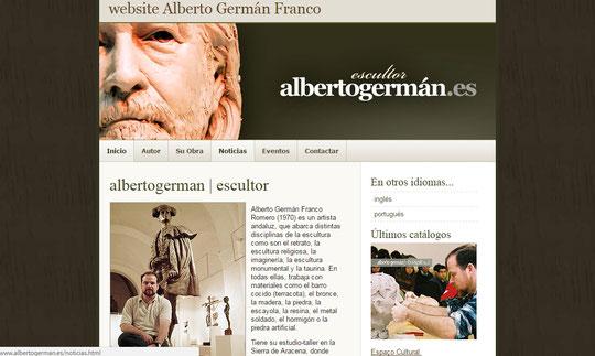 Haz clic en la imagen para visitar la web de Alberto German