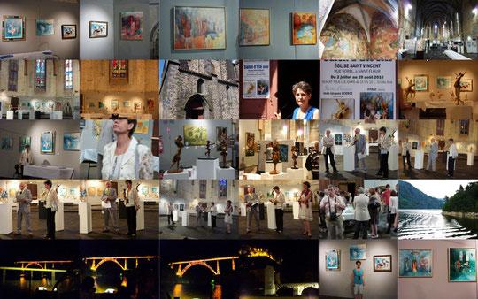 Voici quelques vues de l'exposition.