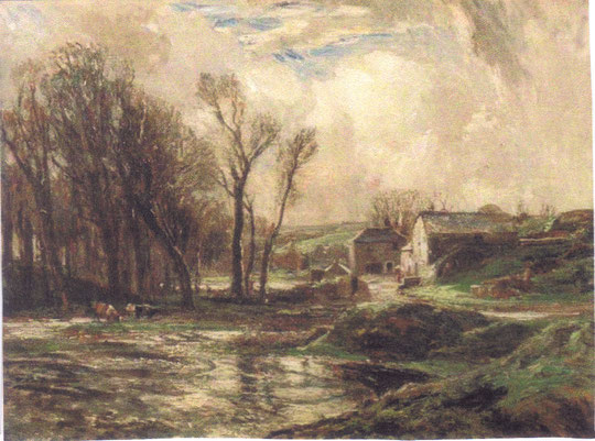 January the Mill at Lamorna, by SJ Lamorna Birch