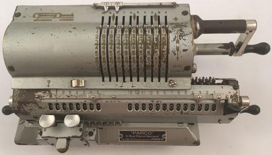 ORIGINAL ODHNER modelo 29, s/n 29-298025, capacidad 10x8x13, año 1938, 36x15x12 cm