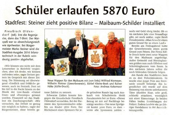 Westfalen-Blatt vom 31.05.2016