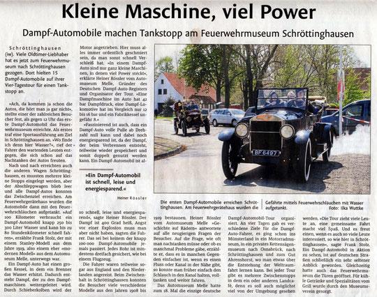 Westfalen Blatt vom 05.05.2017