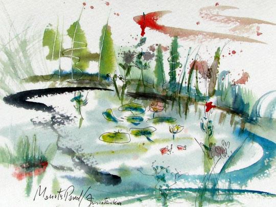 Monet's Pond,