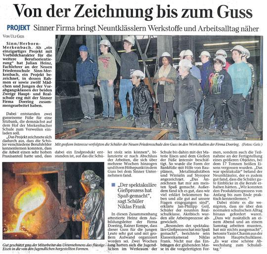 Herborner Tageblatt 09.05.2014
