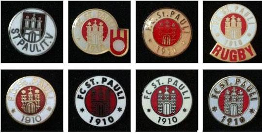 Schöne Pin-Sammlung von Bohne
