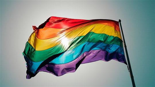 Le drapeau arc-en-ciel aujourd'hui