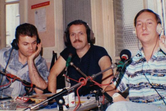 Rémy de Pinho, Michel Coquet, studio de Fréquence Gaie- rue Rocroy 75010 - 1986