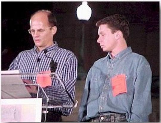 Walter (à gauche sur la photo) et Alex