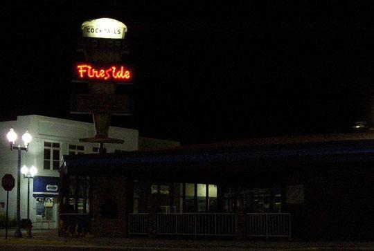 Le Fireside Bar àLaramie