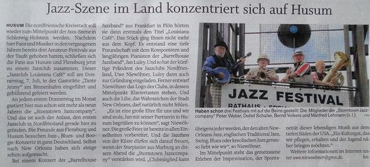 Husumer Nachrichten vom 5.7.2011