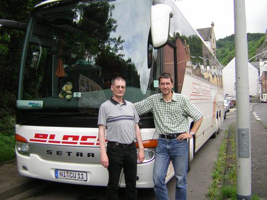 Unsere Fahrer Thomas und Olaf