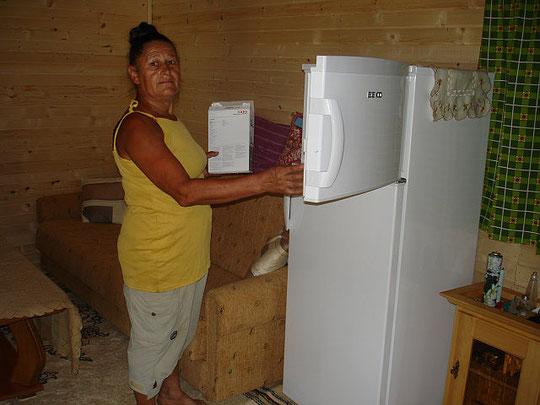 Ein neuer Kühlschrank neben dem Kleßheimer Kasterl!