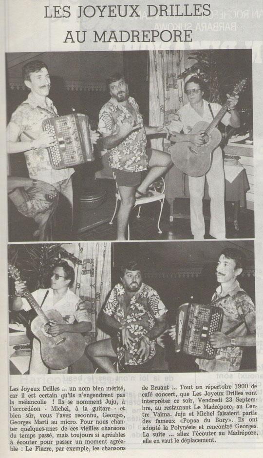 TAHITIRama N° 615 du 26 septembre au 02 octobre 1983