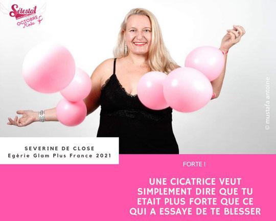 Campagne Octobre Rose de Sélestat Contre le Cancer