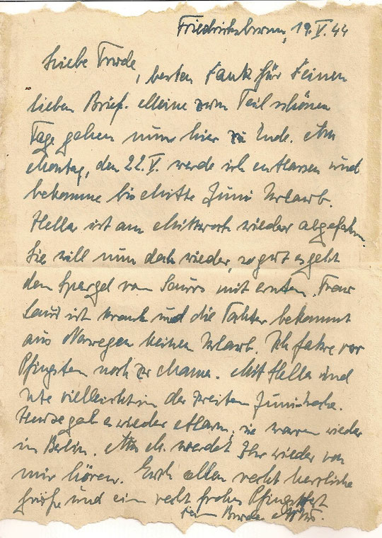 Brief vom 19.05.44