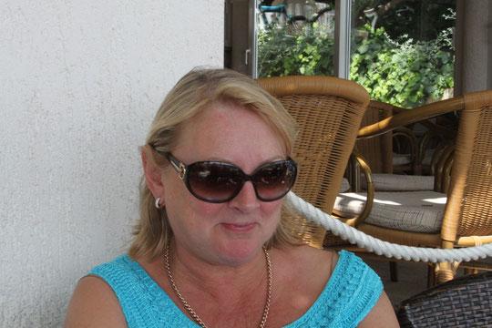 Unsere irische Freundin Helen.