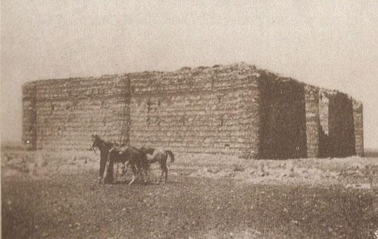 Festung von Westen.