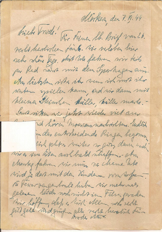 Brief vom 7.6.44