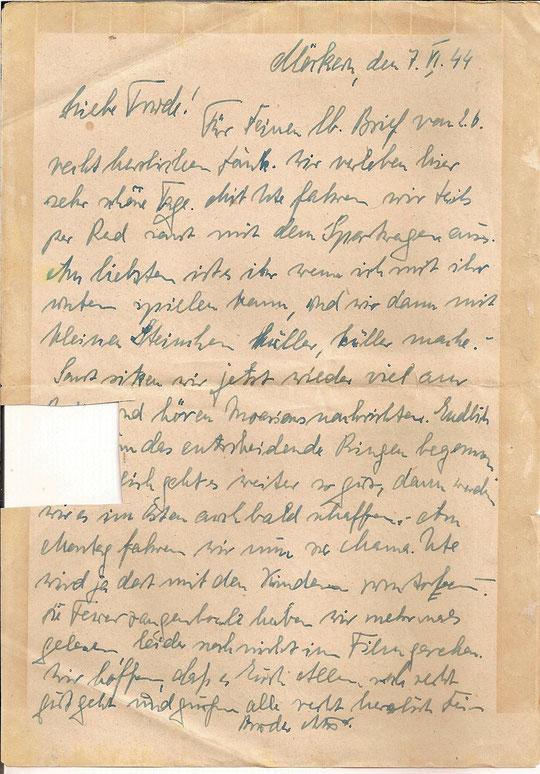 Brief vom 7.6.44