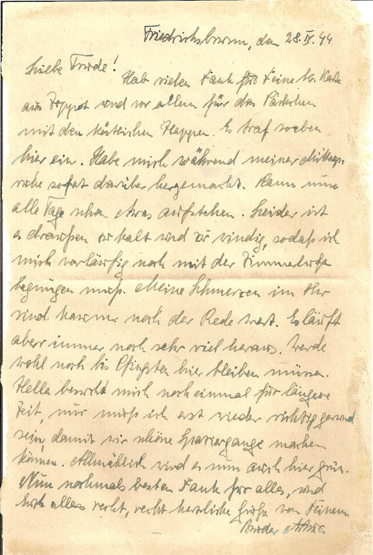 Brief vom 28.04.44