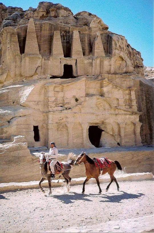 Petra-Obeliskengräber.