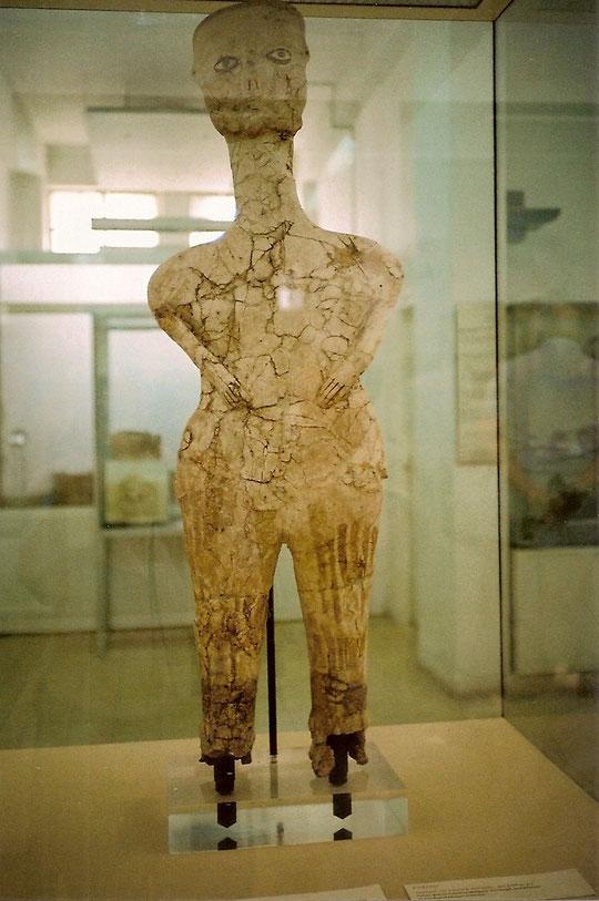Die älteste nachgewiesen Figur in Jordanien.