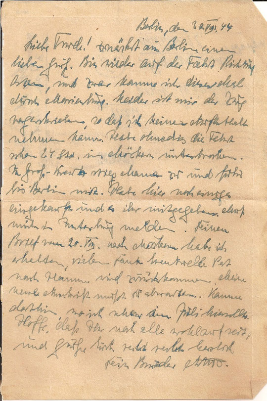 Brief vom 30.8.44