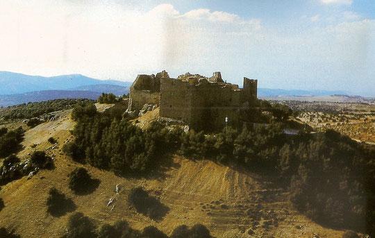 Burg Ajlun aus der Vogelsperpektive
