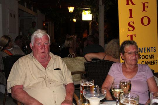 Renate und Patrick aus Irland.