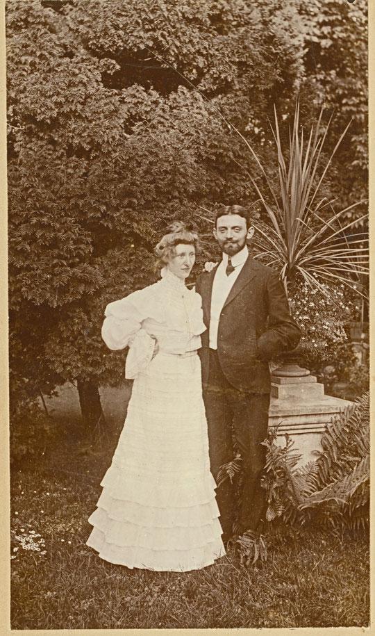 Schwester Else mit Ehemann