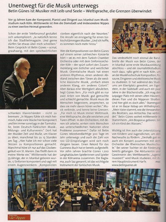 """Stadtteilmagazin """"Für Nippes"""" Heft 2 / 2013, Seite 8"""