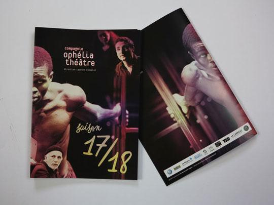 © Clara Chambon - Plaquette de saison 17/18 - Cie Ophélia Théâtre